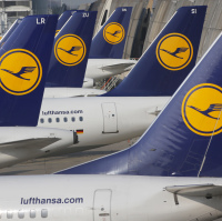 Lufthansa has been forced to cancel hundreds of flights a day