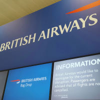 BA flights were heavily disrupted over the weekend