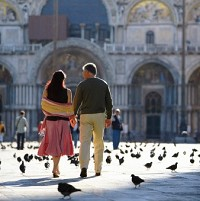 Venice is a popular place for romantic holidays