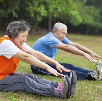 A new study has highlighted the cancer-beating benefits of older age fitness