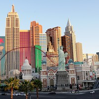 Las Vegas has been voted the most likely place where tourists spend too much cash