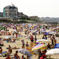 Around a fifth of all British holidaymakers will be opting for a UK break, figures suggest