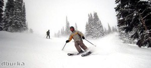 Skiers 'going for package breaks'