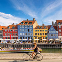 Explore Copenhagen and other cycling cities