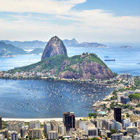Scale Sugarloaf Mountain for panoramic views of Guanabara Bay