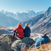 Feel on top of the world in Nepal