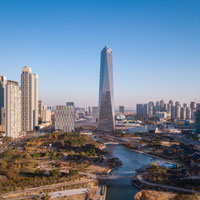 Visit South Korea's most modern metropolis
